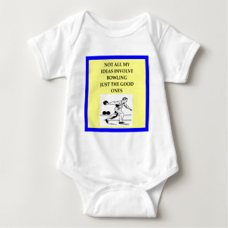bowling baby bodysuit