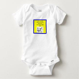 bowling baby onesie