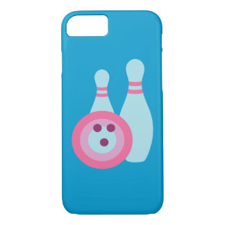 Bowling Ball and Pins iPhone 7 Case