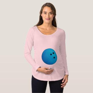 Bowling Ball Baby Maternity T-Shirt