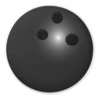 Bowling Ball ceramic knob
