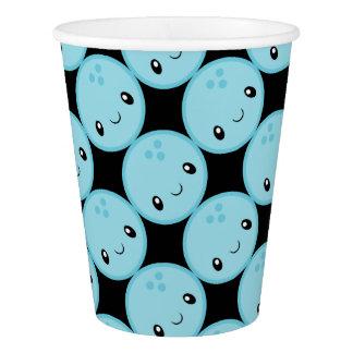 Bowling Ball Emoji Paper Cup