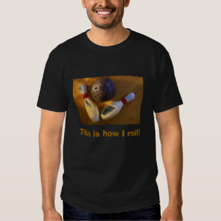 Bowling Ball/Pins T Shirt