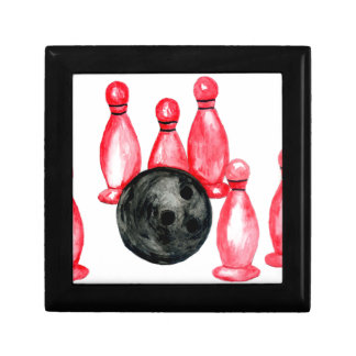 Bowling Ball Sketch2 Gift Box