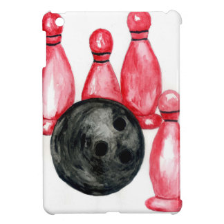 Bowling Ball Sketch2 iPad Mini Covers