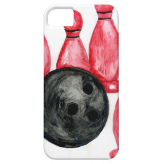 Bowling Ball Sketch2 iPhone 5 Case