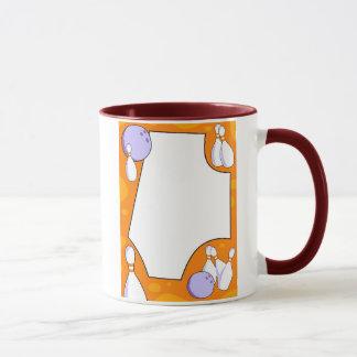 Bowling Border Mug