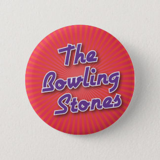 Bowling Button: The Bowling Stones 2 Inch Round Button