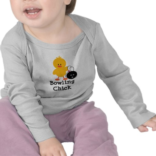 Bowling Chick Infant Long Sleeve Tee