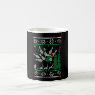Bowling Christmas Coffee Mug