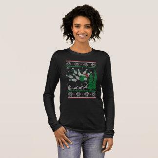 Bowling Christmas Long Sleeve T-Shirt