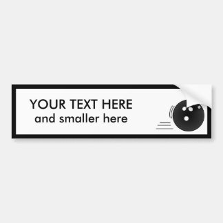 Bowling: Create Your Own Bumper Sticker