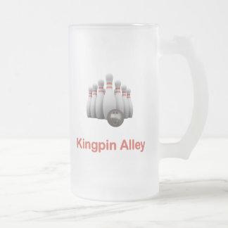 Bowling d'allée de cheville ouvrière mugs à café