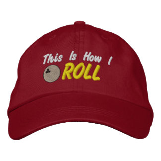 Bowling Embroidered Hat