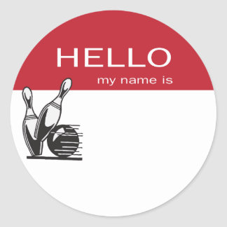 Hello My Name Is Stickers Hello My Name Is Custom Sticker