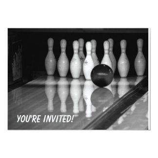 Bowling Event Invitation