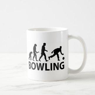 Bowling Evolution Coffee Mug