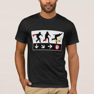 bowling fireball throw gaming T-Shirt