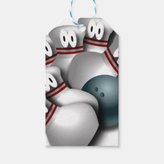 bowling gift tags