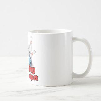 Bowling Grandpa strike).png Classic White Coffee Mug