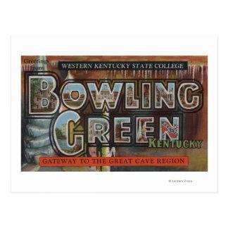 Bowling Green, Kentucky - Large Letter Scenes Postcard