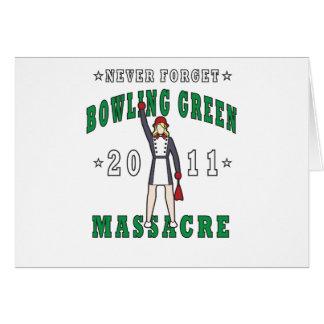 Bowling Green Massacre 2011 Card