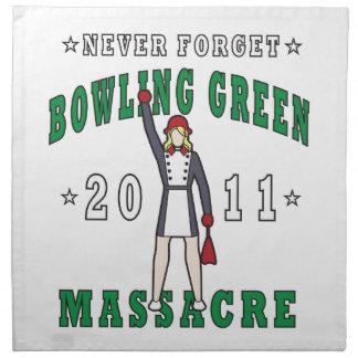 Bowling Green Massacre 2011 Napkin