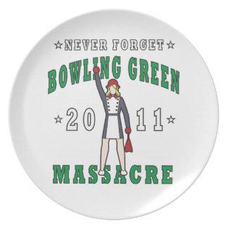 Bowling Green Massacre 2011 Plate