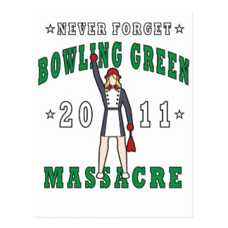 Bowling Green Massacre 2011 Postcard
