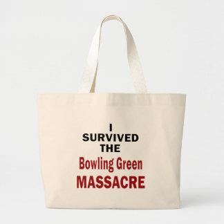 Bowling Green Massacre Survivor Large Tote Bag