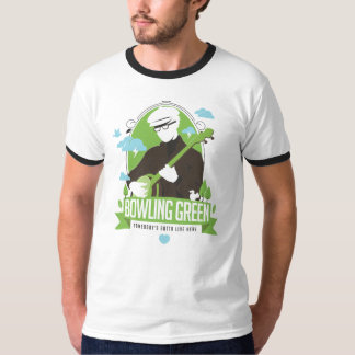Bowling Green, Somebody's Gotta Live here - banjo T-Shirt