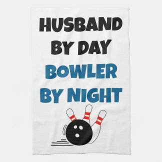 Bowling Husband Kitchen Towel