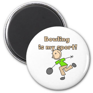 Bowling is my Sport Magnet