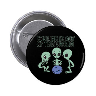 Bowling Is Out Of This World 2 Inch Round Button