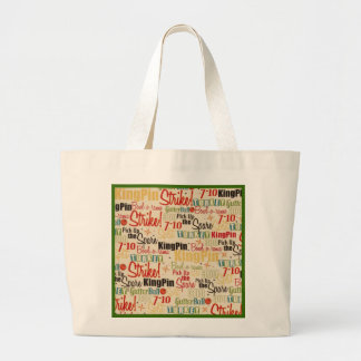 Bowling Is Right Up My Alley Large Tote Bag
