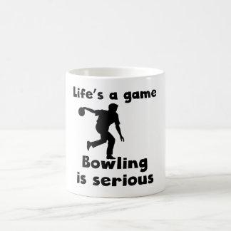 Bowling Is Serious Mugs