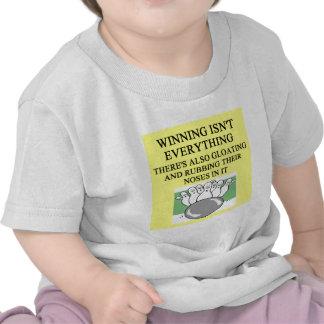 BOWLING joke Tee Shirts