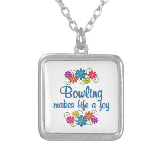 Bowling Joy Silver Plated Necklace