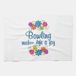 Bowling Joy Towel