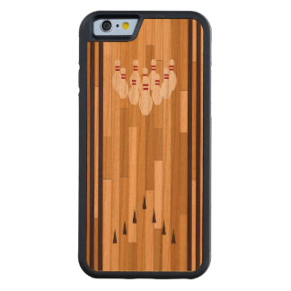 Bowling Lane Wood iPhone 6 Carved Cherry iPhone 6 Bumper Case