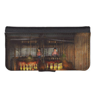 Bowling - Life in the gutter 1910 iPhone SE/5/5s Wallet Case