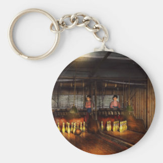 Bowling - Life in the gutter 1910 Keychain