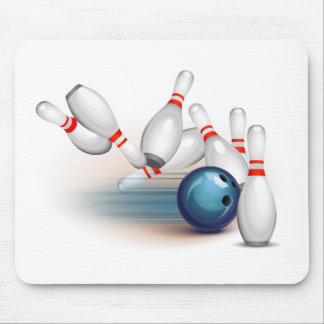 Bowling Mouse Pad