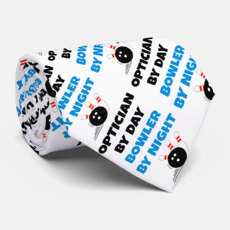 Bowling Optician Tie