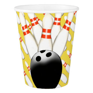 Bowling Paper Cups