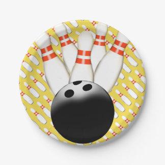 Bowling Paper Plates