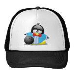Bowling Penguin Mesh Hats