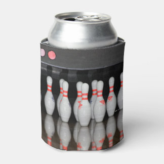 Bowling pin can cooler