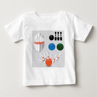 bowling pins baby T-Shirt