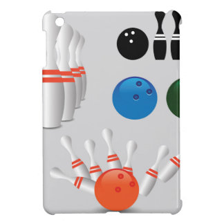 bowling pins iPad mini cover